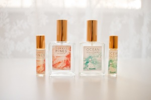 Peachy Keen Perfume. Artisan handmade perfumes.