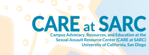 UCSD CARE SARC Logo
